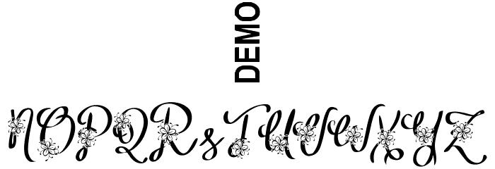 Alyfe Demo फ़ॉन्ट अन्य घर का काम