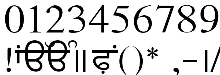 AmSubodh Font OTHER CHARS
