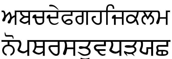 AmSubodh Font LOWERCASE