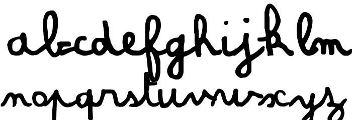 Amandine Шрифта строчной