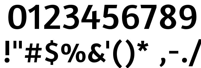 Amaranth Font OTHER CHARS