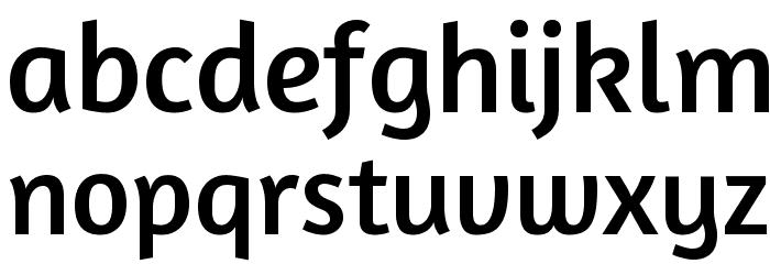 Amaranth Font LOWERCASE