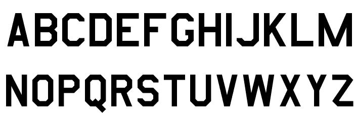 AmarilloUSAF Font UPPERCASE