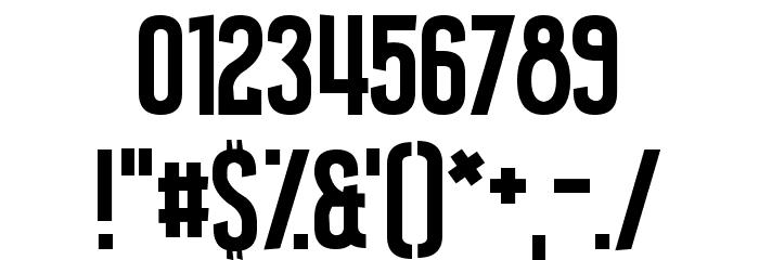 Amateur Camcorder Шрифта ДРУГИЕ символов