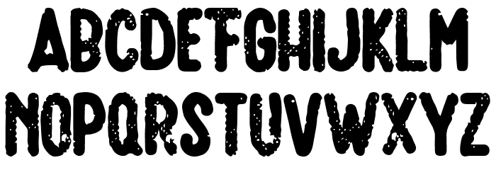 Amatir Grunge Шрифта строчной