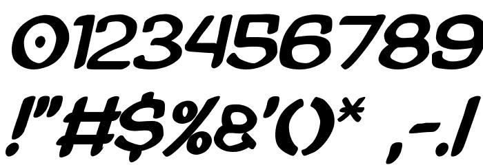 AmazGoDaBold Font OTHER CHARS