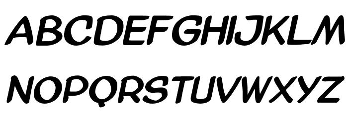 AmazGoDaBold Font LOWERCASE