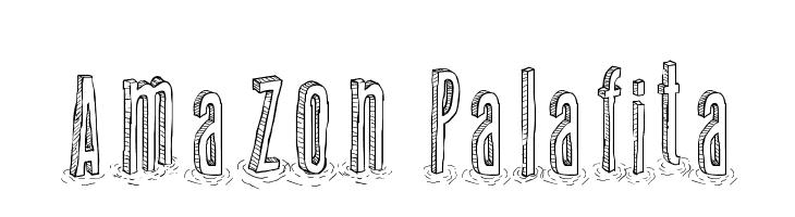 Amazon Palafita  नि: शुल्क फ़ॉन्ट्स डाउनलोड