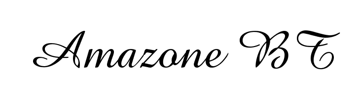 Amazone BT  Free Fonts Download