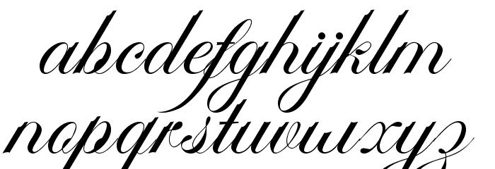 AmbergrisScriptFreePersonal Schriftart Kleinbuchstaben