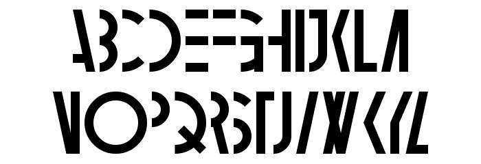 Ambidextrose Шрифта строчной