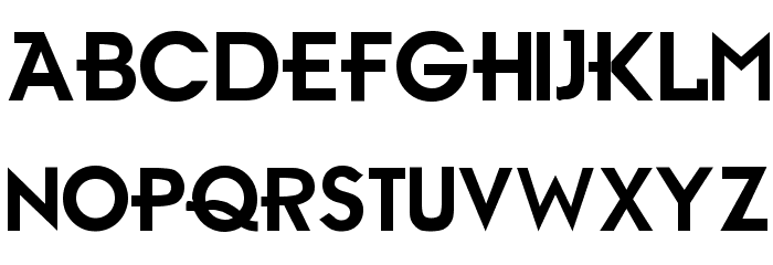 Ambient Medium Font UPPERCASE