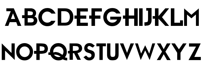 Ambient Medium Font LOWERCASE