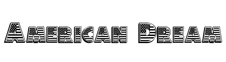 American Dream  Free Fonts Download