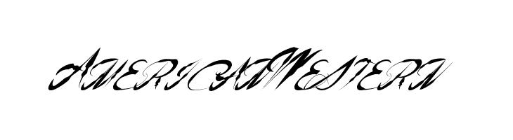 AmericanWestern  Скачать бесплатные шрифты