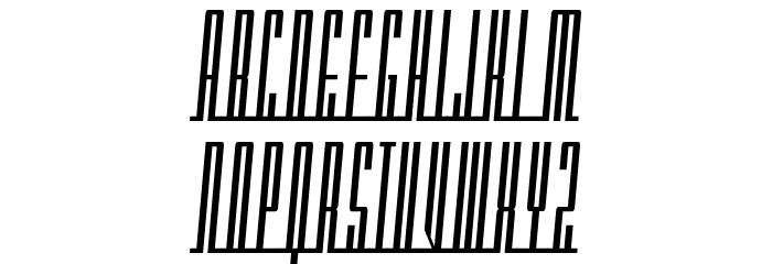 Americana Dreams Condensed Font UPPERCASE