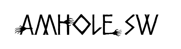 Amhole SW  Free Fonts Download