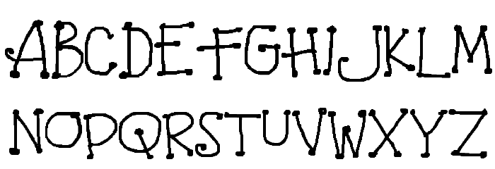 Amidst Font UPPERCASE