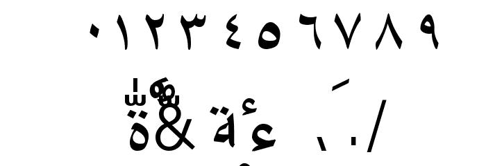 Amien-01 Шрифта ДРУГИЕ символов