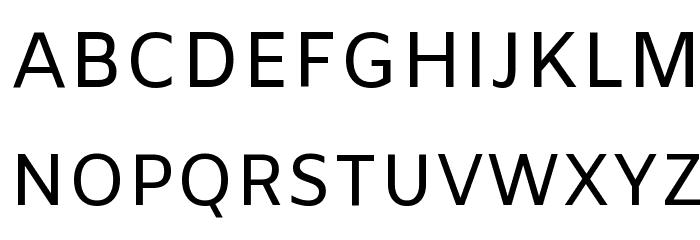 Amiko Regular Font UPPERCASE