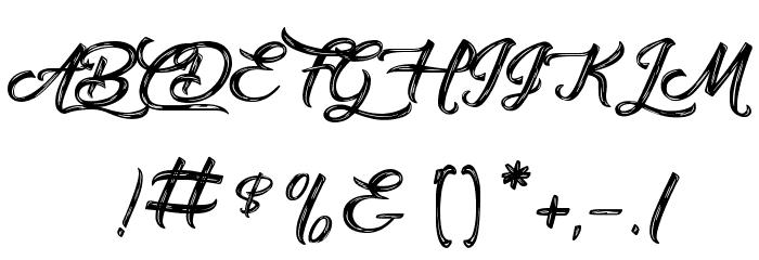 Amontillado Шрифта ДРУГИЕ символов