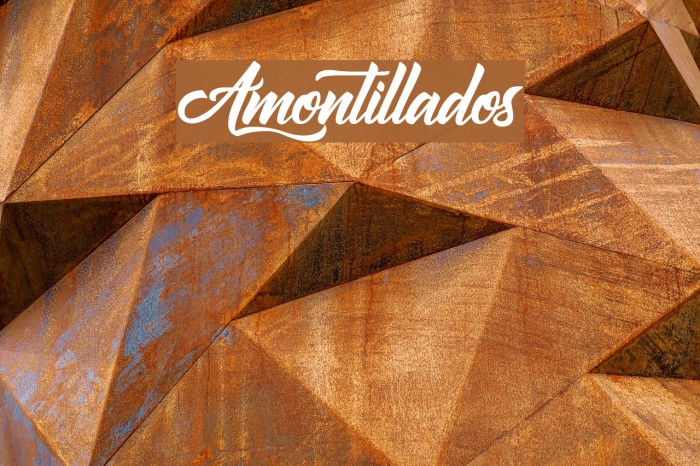 Amontillados Polices examples