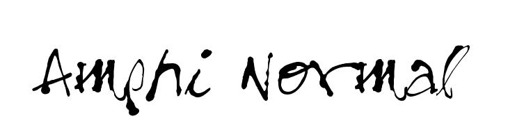 Amphi Normal  Descarca Fonturi Gratis