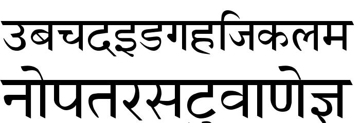 AmrHindi Font LOWERCASE