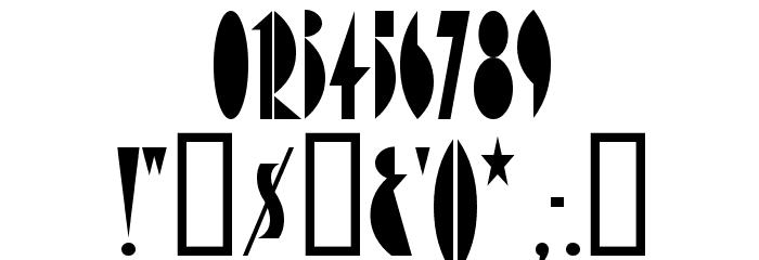 AmsterdamTangram Font OTHER CHARS