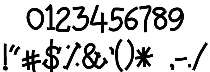 Amutham フォント その他の文字