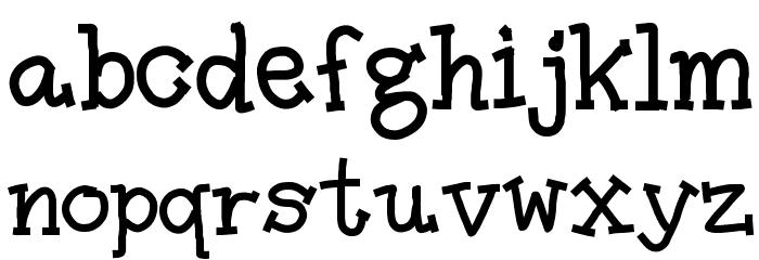 Amutham フォント 小文字