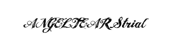 ANGEL TEARS trial  Скачать бесплатные шрифты