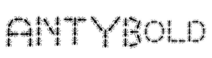 ANTY Bold  Скачать бесплатные шрифты