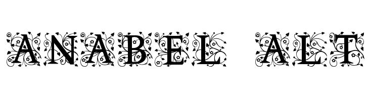 Anabel Alt  Free Fonts Download