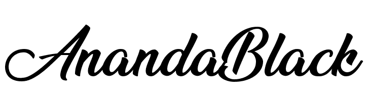 Ananda Black  Free Fonts Download