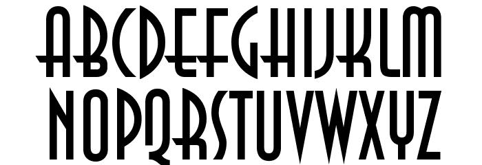 Anastasia Regular Font Litere mari