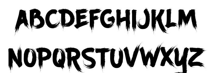 Ancherr Personal Use Font Litere mici