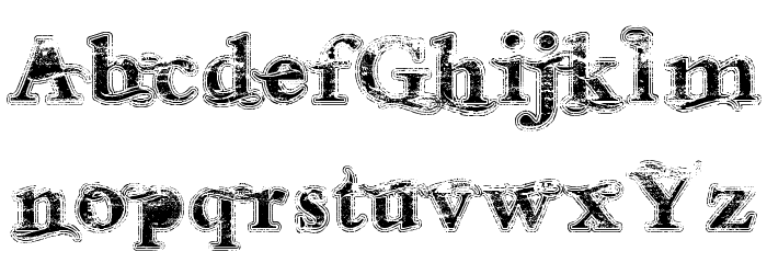 Andalusian Trial Font UPPERCASE