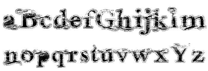 Andalusian Trial Font LOWERCASE