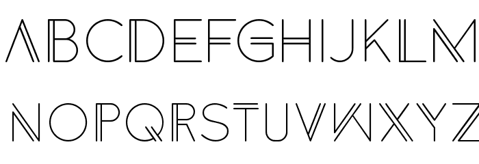 Anders Font UPPERCASE