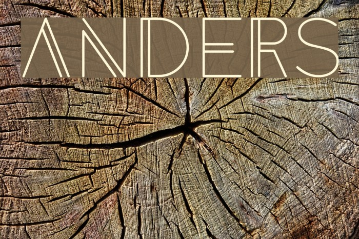 Anders Font examples