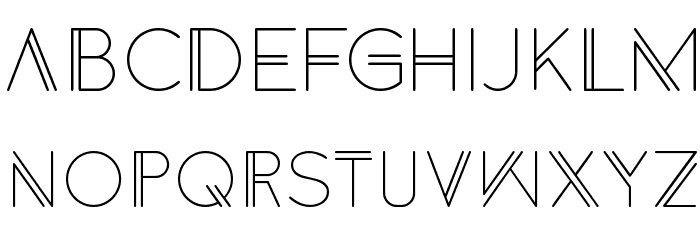 Anders Font LOWERCASE