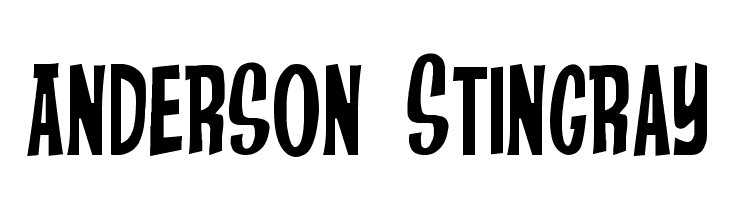 Anderson Stingray  Free Fonts Download