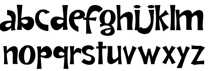 AndreaKarimeNormal Font LOWERCASE