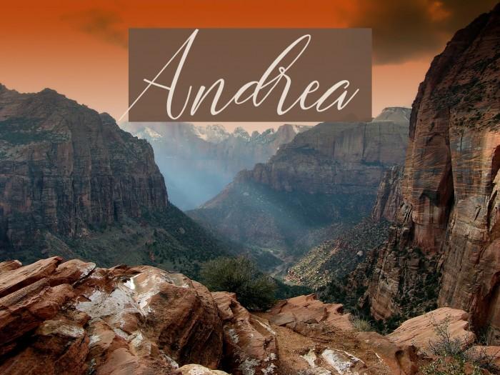 Andrea Font examples
