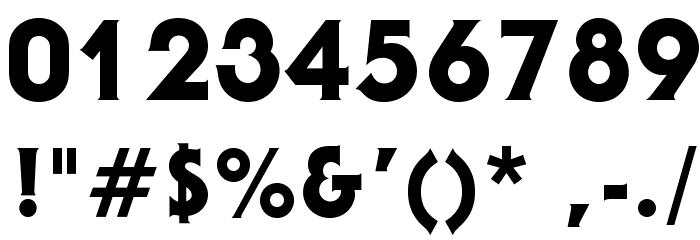 AndroclesOpti-Heavy Шрифта ДРУГИЕ символов