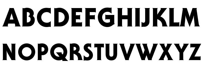 AndroclesOpti-Heavy Шрифта ВЕРХНИЙ