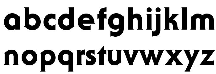 AndroclesOpti-Heavy Шрифта строчной