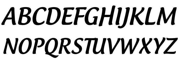 font androgyne medium