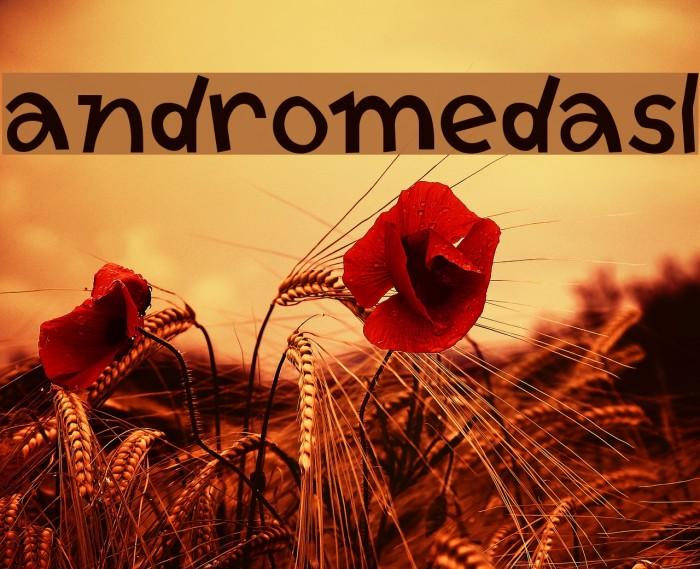 AndromedaSL Font examples